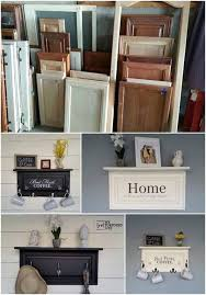 diy repurposed furniture. Simple Furniture Turn Old Doors Into Hanging Shelvesawesome Upcycled Ideas To Diy Repurposed Furniture 0