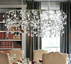 rectangular glass chandelier modern rectangular chandelier pottery barn the best rectangular rhys clear glass prism rectangular rectangular glass