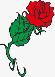 Easy To Draw Roses Rose Cartoon Red Vector Rose Simple Rose Vector Rose Cartoon Rose