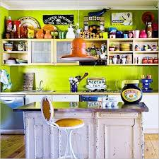 Colorful Kitchen Decor Colorful Kitchen Decorating Ideas With Kitchen Cabinet And White