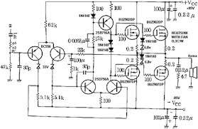 mosfet amplifier power output 400w audio audio