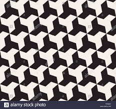 Cool Tessellations Designs Vector Seamless Black And White Geometric Triangle Shape