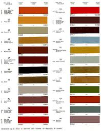 Phantom Colour Code Cyclamen Colour Chart 1829 Paint Chart