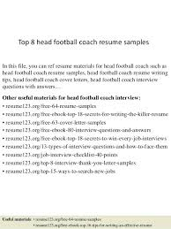 Football Coach Resume Sample Best of Football Coaching Resume Examples High School Shalomhouseus