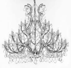 a83 silver 1502 36 1 maria theresa chandelier chandeliers crystal chandelier