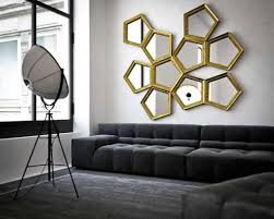 Modern Living Room For Apartment Contemporary Wall Mirrors For Small Living Room Apartment Design