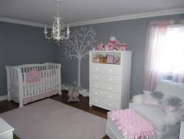 pink and grey nursery rug