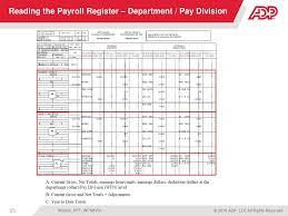 Payroll Output Reports Balancing Ppt Download