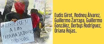 """Carolina Gonzalez's tweet - """"Derbys Rodríguez y Guillermo González, son  inocentes. La injusticia comenzó con detención arbitraria y violación al  debido proceso. Tienen derecho a un juicio justo respetando la Constitución  y"""