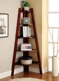 stair bookcase furniture. Corner Ladder Bookcase Brown Furniture For Elegant Living Room Design Stair Z