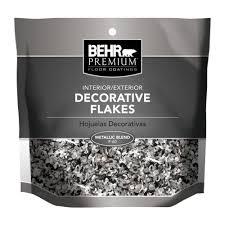 metallic paint home depot. behr premium metallic blend decorative color flakes-f6024 - the home depot paint