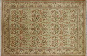 astonishing william morris rug 6 x 9 fl handmade oriental area p2696