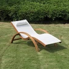 reclining outdoor lounge chair