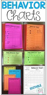 Treasure Chart 6 Behavior Charts For Behavior Management Editable