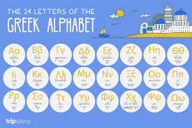 Greek And English Alphabet Chart Learn The Greek Alphabet With These Helpful Tips