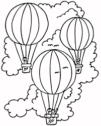 Small Picture Three hot air balloon coloring pages ColoringStar