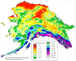 California Annual Rainfall Chart Alaska United States Average Annual Yearly Climate For