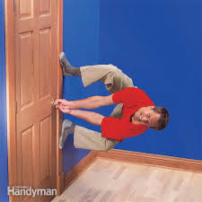 garage door stickingFix Sagging or Sticking Doors  Family Handyman