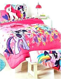 my little pony twin bedding little pony bedding set my little pony bed set full my
