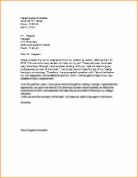 1 Week Notice Resignation Letter Sample Image Collections Letter