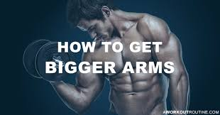 How To Get Bigger Arms The Best Bicep And Tricep Workout