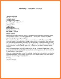 Cover Letter For Pharmacist Perfect Resume
