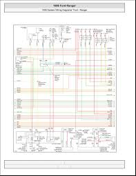 99 Ford Ranger Electrical Wiring Ford Wiring Diagrams Automotive