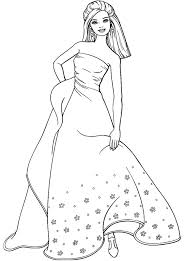 Small Picture Free Printable Barbie Coloring Pages For Kids