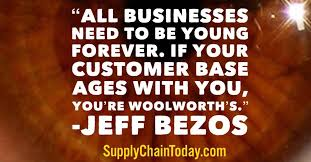 Jeff Bezos Quotes Unique Jeff Bezos Amazon Story Supply Chain Innovation At Amazon