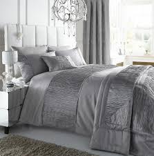 image of duvet cover luxury gray