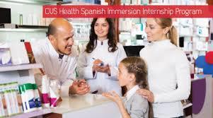 Cvs Summer Internship Hablas Español Hosa