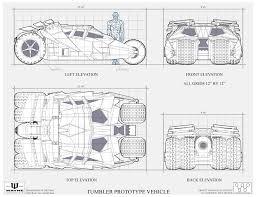 Dork Designs The Dork Review Robs Room Batmobile Blueprints