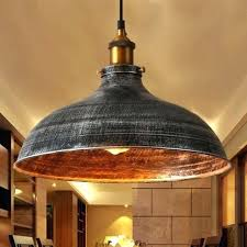 rustic lamp shade industrial pendant lighting retro vintage light ceiling barn fixture us hanging lights shades