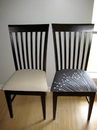 reupholster simple design reupholstering dining room chairs 2 brilliant i can totally make that diy before and