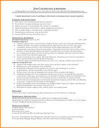 11 Event Planner Resume Sample Precis Format