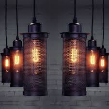 image is loading new vintage industrial diy ceiling lamp edison light