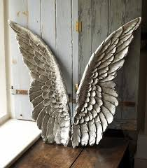 large size resin angel wing decor intended for angel wings wall art image 16 of