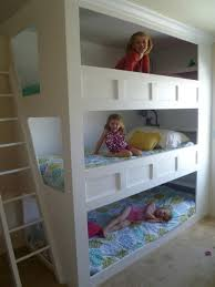 kids bunk bed. Cool And Practical Bunk Beds For More Than Two Kids Bed