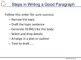 How To Write An Effective Paragraph