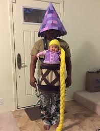carrier costume. baby rapunzel costume carrier