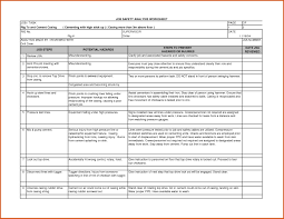 Job Site Analysis Template Job Hazard Analysis Form General Resumes With Activity Hazard 1