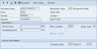 Goods Received Note Format Extraordinary How To Create Goods Receipt In SAP MIGO MB48C MB48