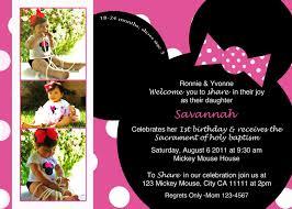 Free Templates For Invitations Birthday minnie mouse birthday invitation templates free Minnie Mouse 65
