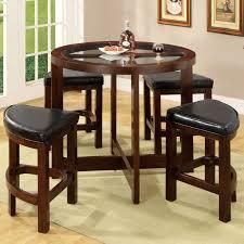 furniture of america corellia 5 piece counter height table set hayneedle
