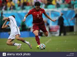 Thomas Mueller of Germany and Pepe of Portugal. Germany v Portugal Stock  Photo - Alamy