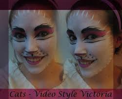 how to do cats makeup video victoria