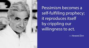 open th for night owls howard zinn on the optimism of  r i p howard zinn 1922 2010