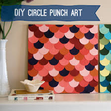 frugal wall decor diy on paper wall art crafts with diy paper punch scallop art