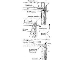 door jamb diagram. Occasionally I\u0027m Hired To Replace Door Jambs That Have Been Damaged By Burglars. Often, Only One Jamb Leg Is (the Strike Side Of The Door). Diagram