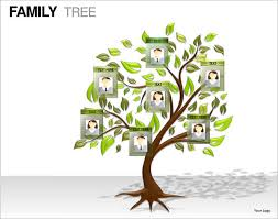 Tree Template For Powerpoint 7 Powerpoint Family Tree Templates